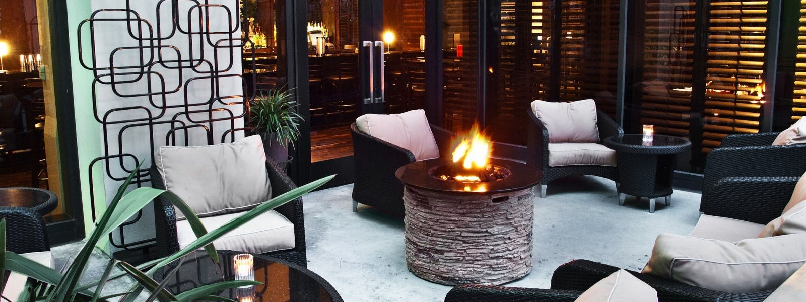 The Westin Los Angeles Airport Amenities -  hotel firepit