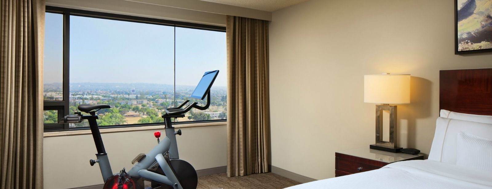 WestinWORKOUT® Room - guest room with Peloton bike